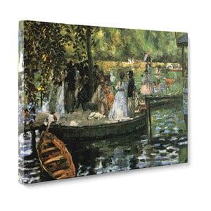 Obraz La Grenouillére - Pierre Auguste Renoir, 50x70 cm