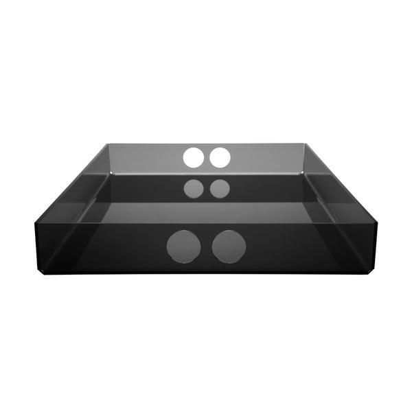 Podnos Tray Black, 30x41 cm