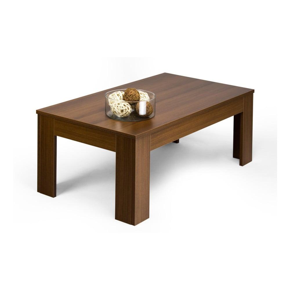 Konferenční stolek v dekoru ořechu MobiliFiver Easy thumbnail