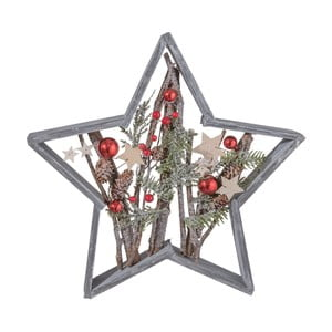 Stea decorativă Clayre & Eef Holy Christmas Star, 39 x 39 cm