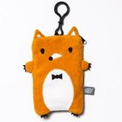 Plyšový obal na telefon, MP3 či klíče Fox XL