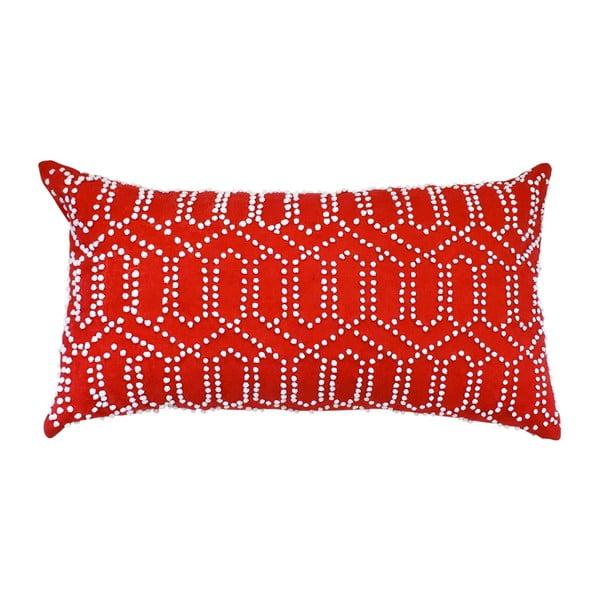 Povlak na polštář Gantha Red, 30x53 cm