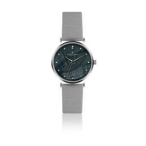 Dámské hodinky s páskem z nerezové oceli ve stříbrné barvě Frederic Graff Dolent