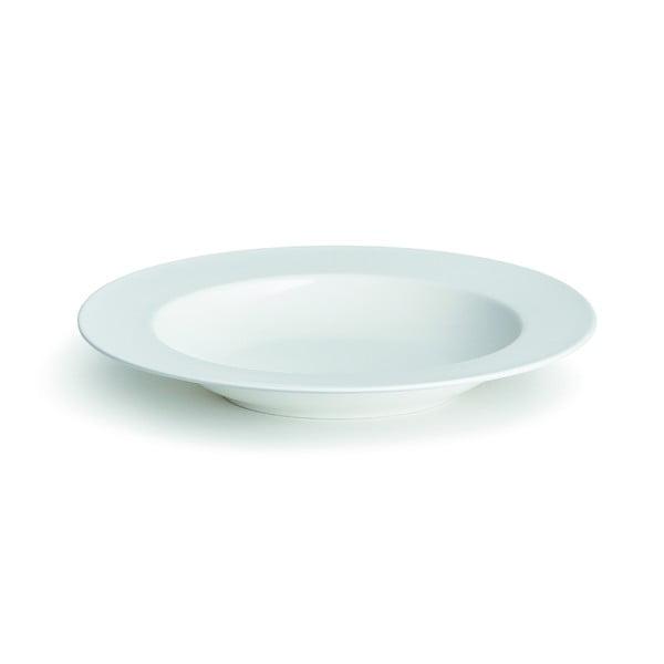 Kaolin fehér csontporcelán mélytányér, ⌀ 22,5 cm - Kähler Design