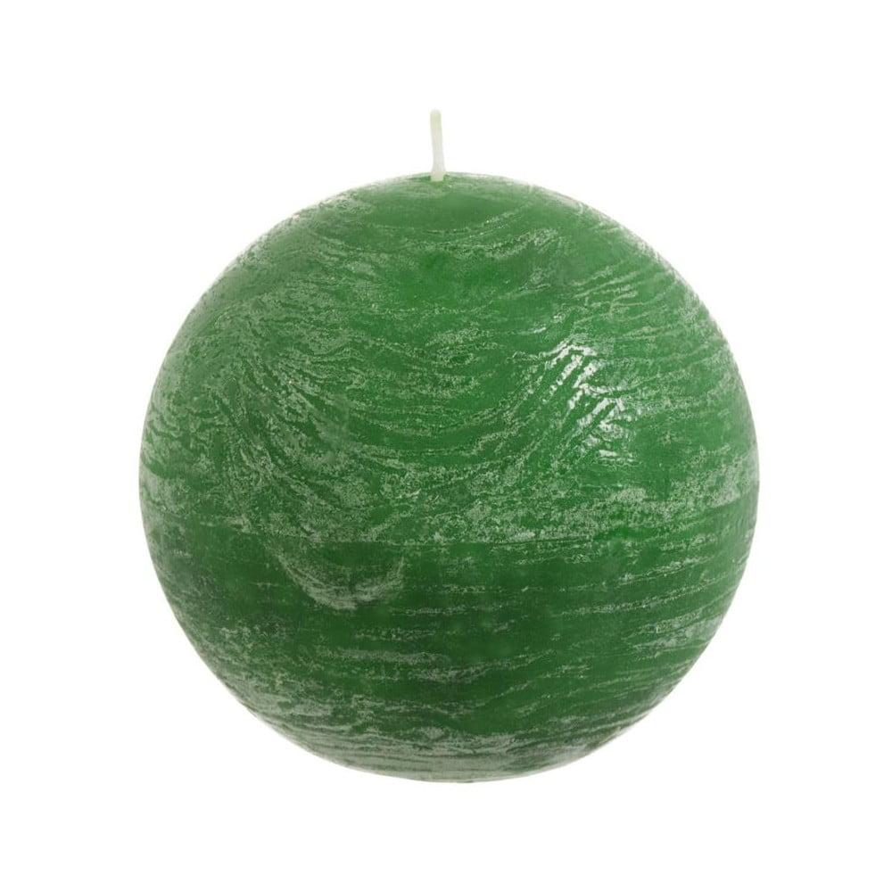 Světle zelená svíčka J-Line Ball