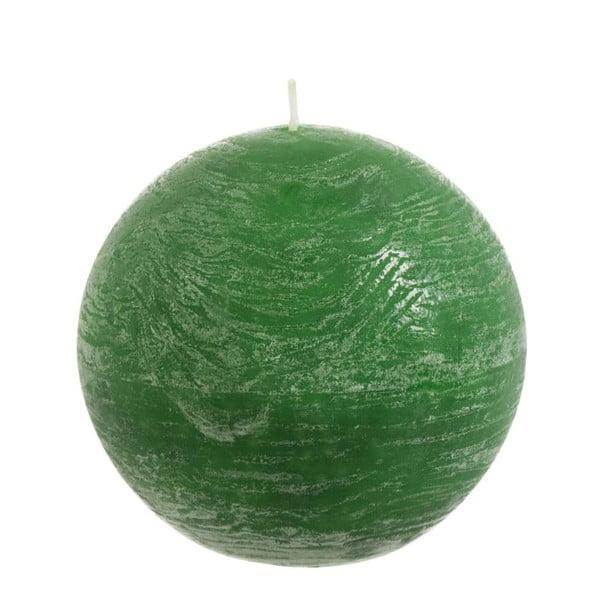 Jasnozielona świeczka J-Line Ball