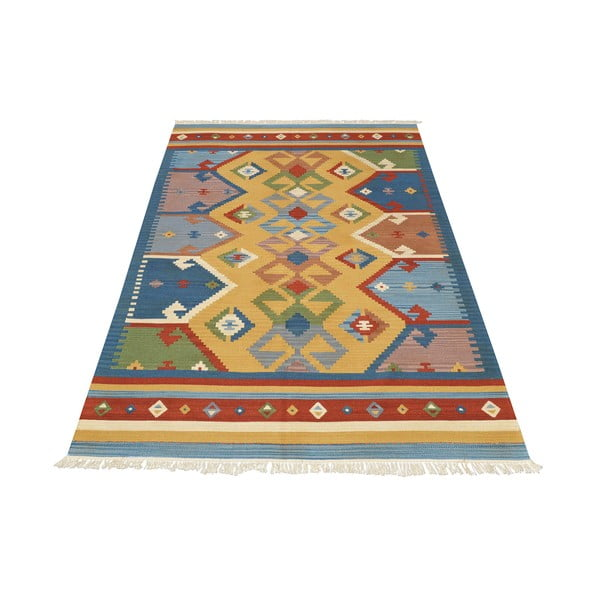 Ručně tkaný koberec Kilim Classic K05 Mix, 95x155 cm