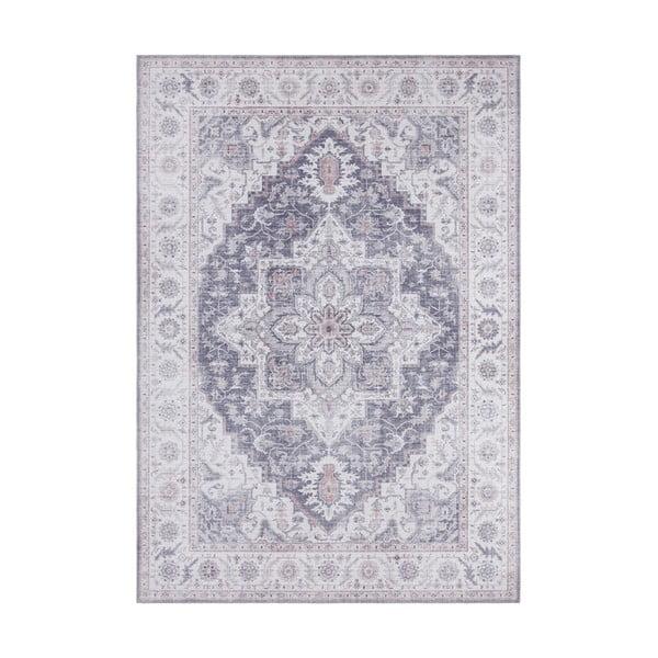 Szaro-różowy dywan Nouristan Anthea, 80x150 cm