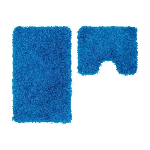 Sada 2 koupelnových předložek s výkrojem Citylights Blue