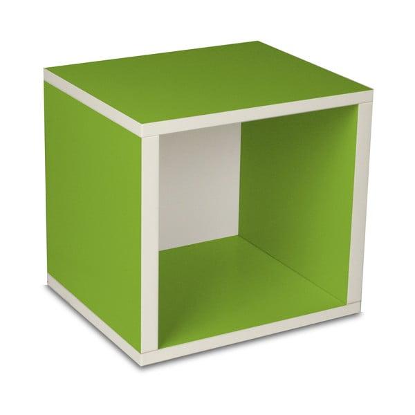 Police Cube, zelená