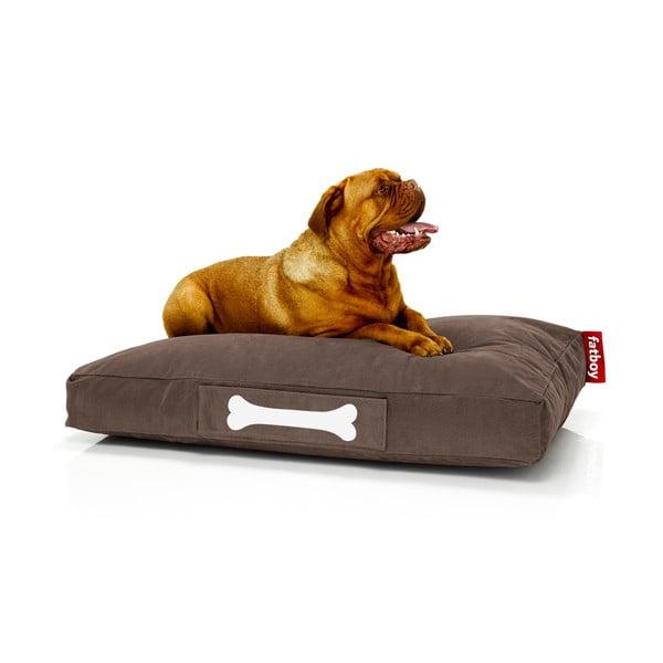 Hnědý pelíšek pro psy Fatboy Doggieloung, vel. L