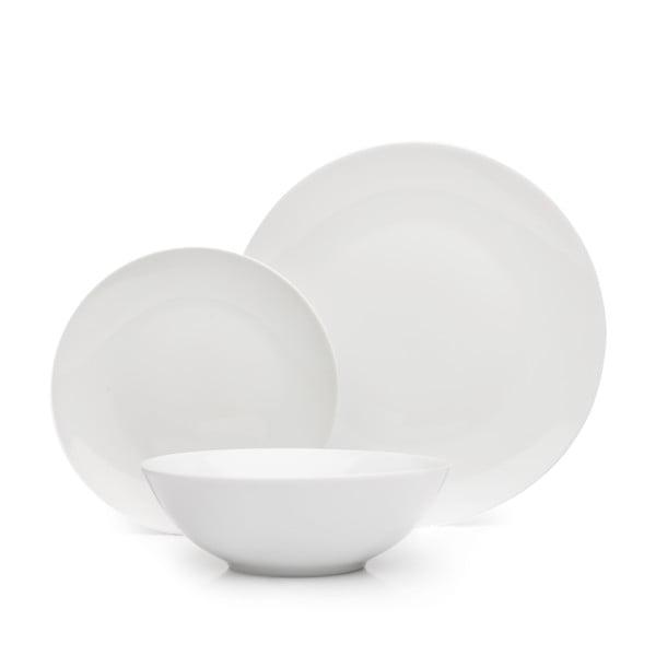 12dílná porcelánová sada nádobí Sabichi Snowdon