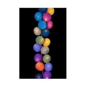 Světelný řetěz Mexican, 50 ks světýlek