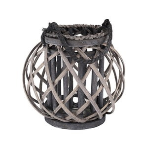 Dřevěná lucerna Versteen Braxx