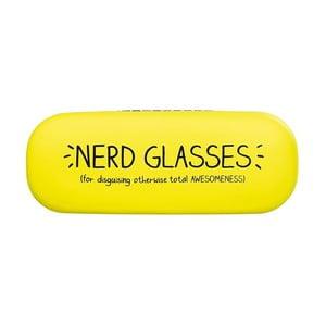 Žluté pouzdro na brýle Happy Jackson Nerd Glasses