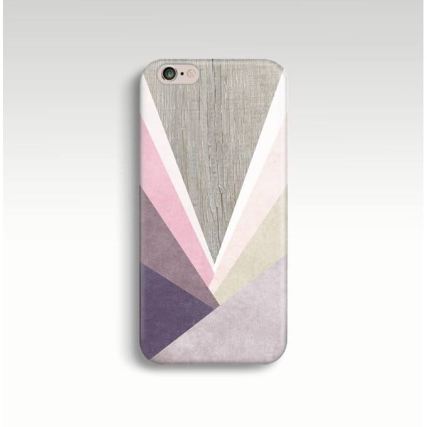 Obal na telefon Wood Triangles II pro iPhone 5/5S