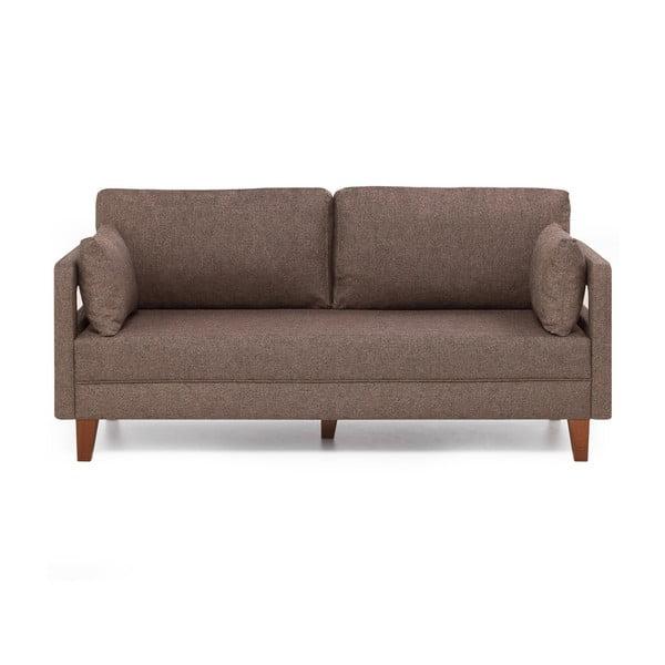 Home Lily barna kétszemélyes kanapé - Balcab