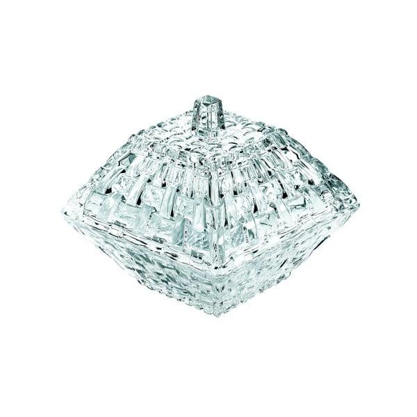 Bossa Nova kristályüveg tárolódoboz 12 x 12 cm - Nachtmann