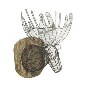 Dekorativní drátěná hlava jelena Parlane Moose