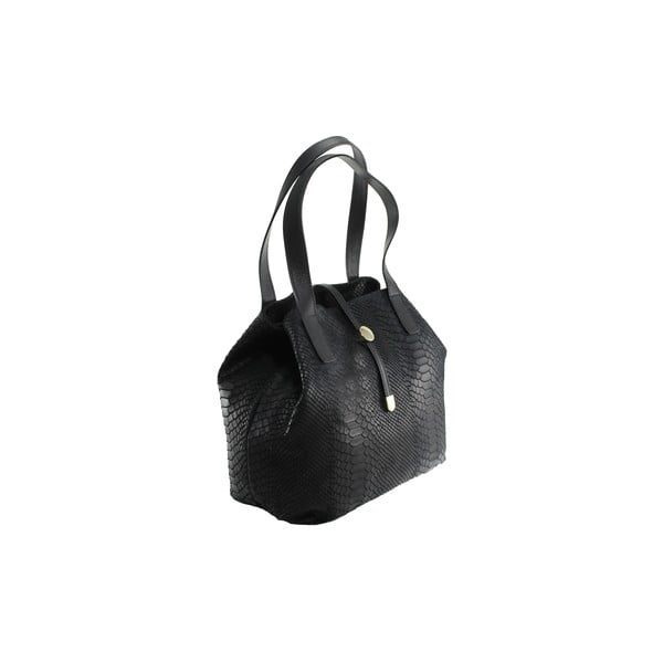 Kožená kabelka Betty Nero