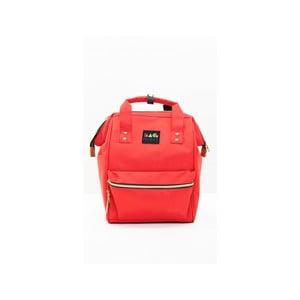 Červený dámský batoh Mori Italian Factory Cansa