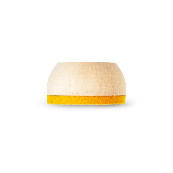 Stojan na čajovou svíčku Wow Light Yellow