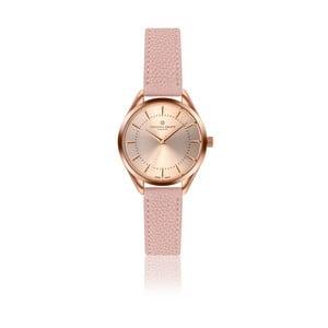 Dámské hodinky se světle růžovým páskem z pravé kůže Frederic Graff Melissa