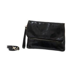 Černá kabelka z pravé kůže Andrea Cardone Marco