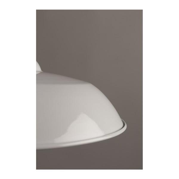Bílé závěsné svítidlo Dutchbone Core
