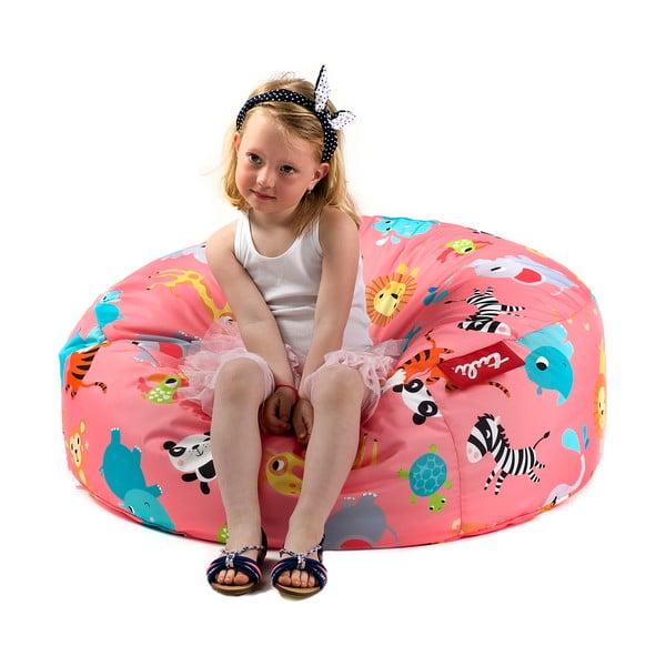 Dětský sedací vak ZOO zvířátka