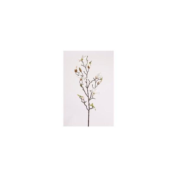 Umělá květina Magnólie Stellata, bílá