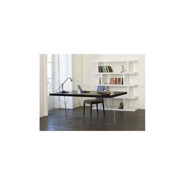 Pracovní/jídelní stůl Trestle, délka 160 cm, dekor wenge