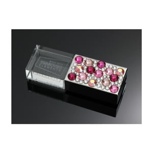 USB flash Swarovski Elements Rosa, 8 GB