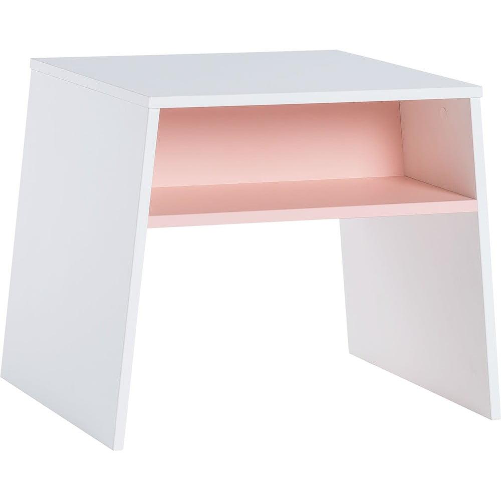 Produktové foto Bílorůžový dětský stolek Vox Tuli