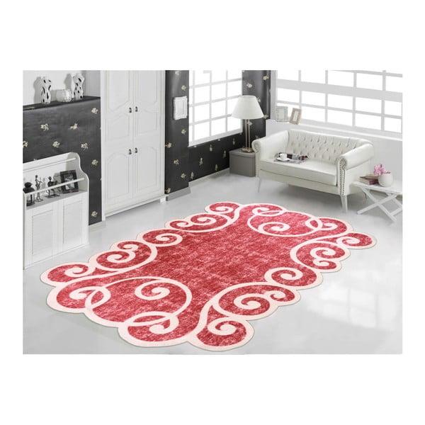 Odolný koberec Vitaus Gunna Kirmizi, 60 x 100 cm