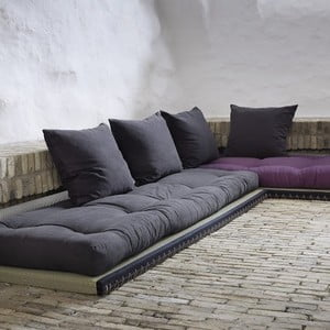 Sofa Chico Single, šedá matrace