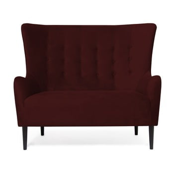 Canapea cu 2 locuri Vivonita Blair, vişiniu de la Vivonita