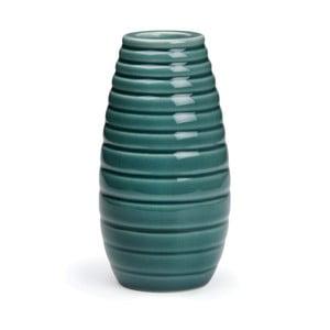 Petrolejově modrý svícen Kähler Design Cono