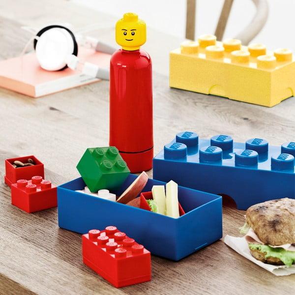 Modrý svačinový box LEGO®