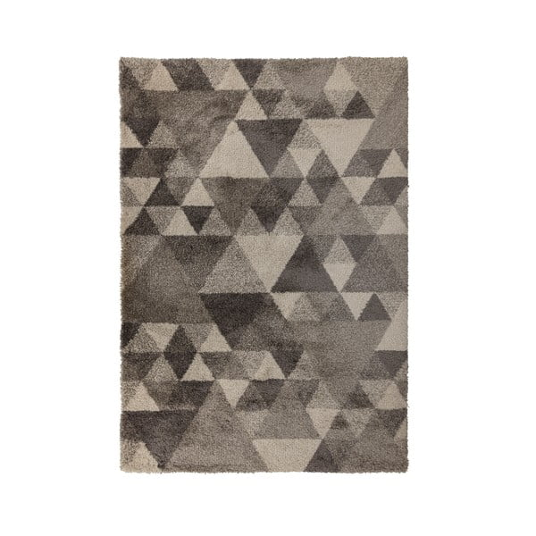 Szarobeżowy dywan Flair Rugs Nuru, 60x230 cm
