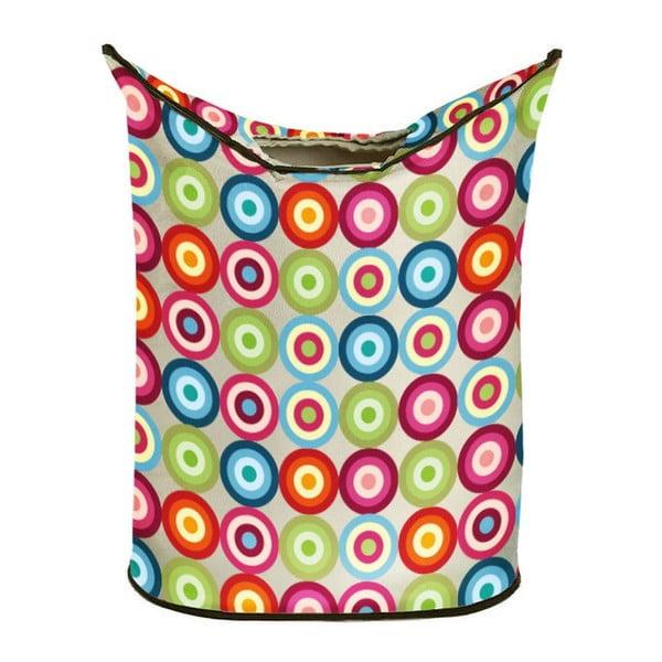 Koš na prádlo Colorful Dots