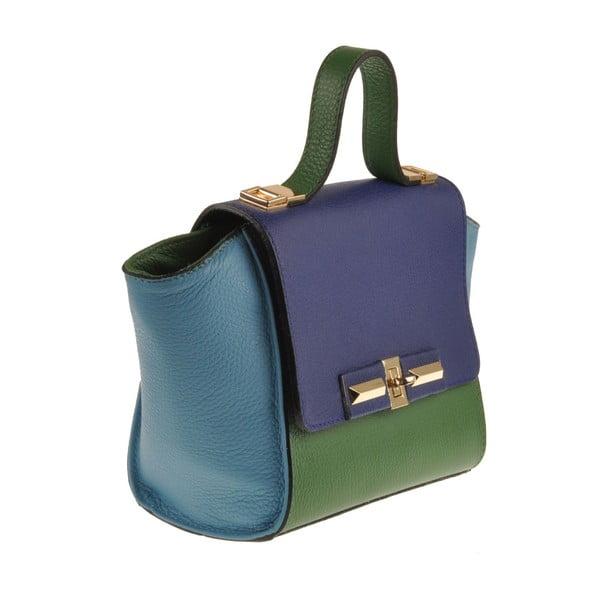 Kabelka Classe Regina Green Blue 1513