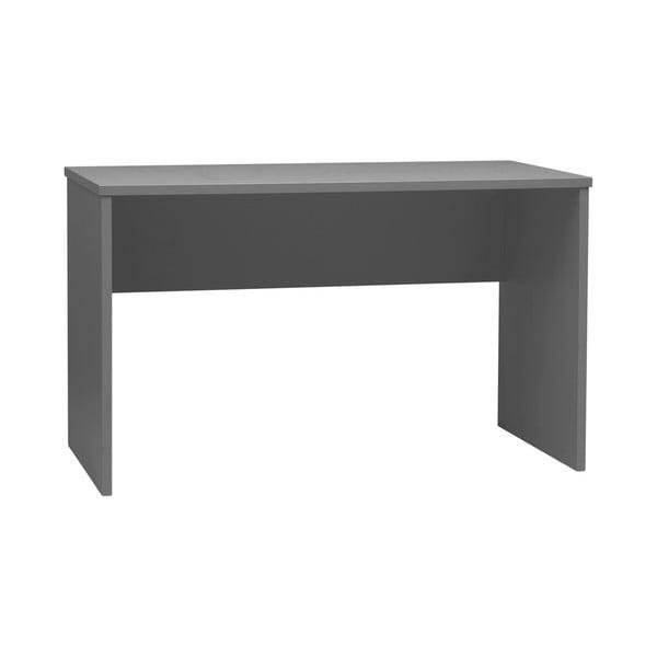 Tmavě šedý dětský psací stůl Pinio Snap