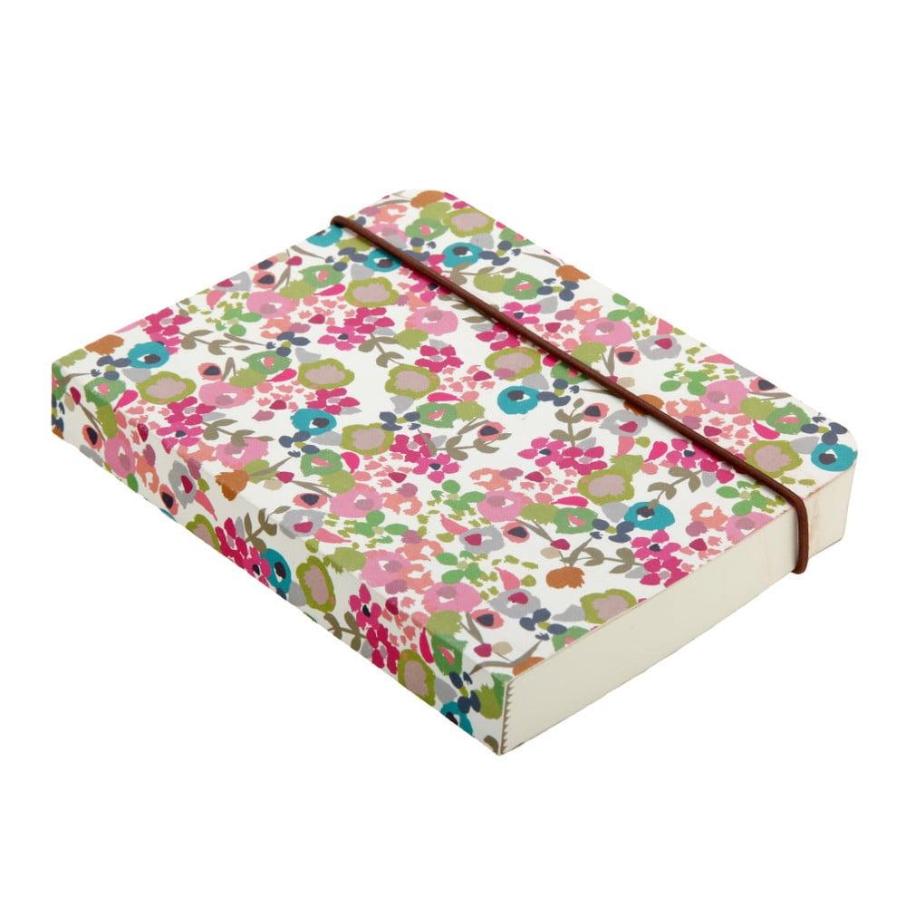 Malý zápisník Caroline Gardner Ditsy Small Chunky Notebook