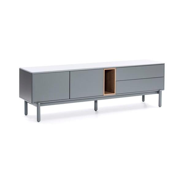 Šedý televizní stolek Teulat Corvo