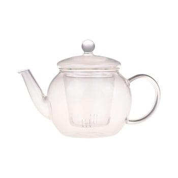 Ceainic de sticlă Bambum Petunia, 500 ml imagine