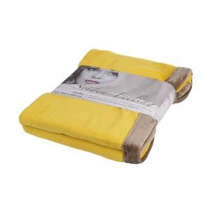 Deka Cuddly Yellow, 150x200 cm
