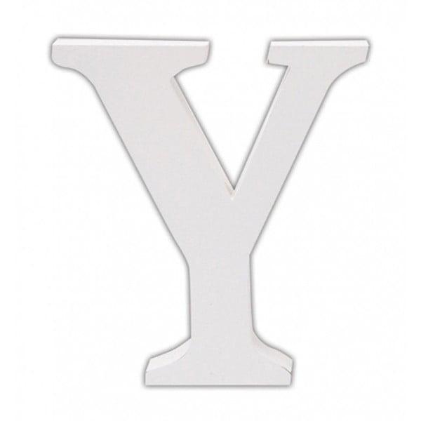 Dřevěné písmeno Y