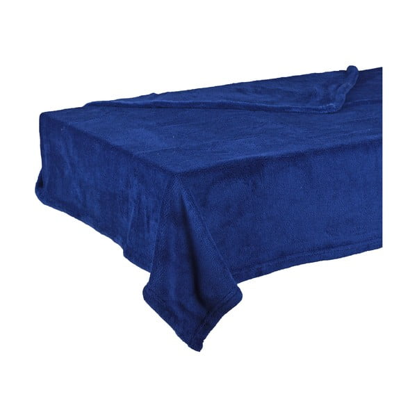 Modrá deka Ewax Ria, 130 x 180 cm