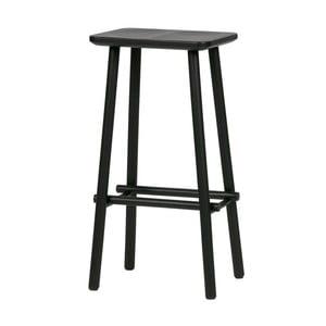Černá barová stolička De Eekhoorn Butt